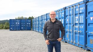 Stor interesse for lagring i container