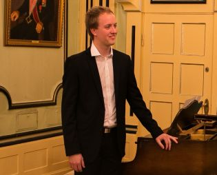 Comeback for pianist Sivert Blindheim